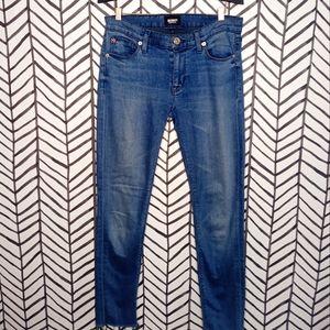 Hudson Jeans Krista Ankle Skinny Raw Hem